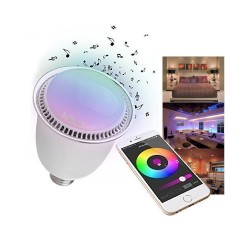 Lampe Bluetooth color