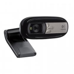 Webcam avec microphone intégré et compatible Facebook/Skype/MSN